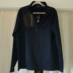 NEW - men's Eddie Bauer 1/4 zip